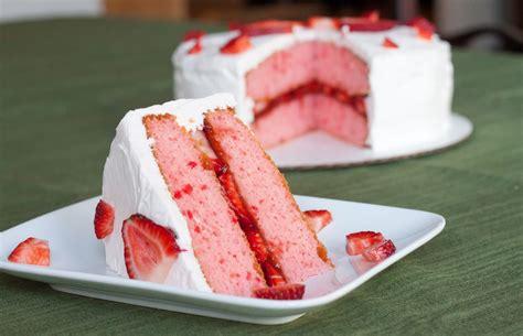 strawberry cake strawberry cake recipe so blessed