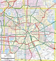 large dallas maps for free and print high