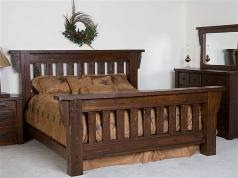 Stylish Bed Frames Rustic Bed Frames For Stylish Bedroom Home Design Ideas