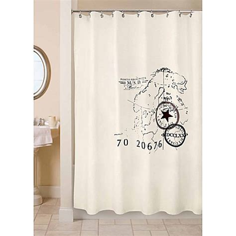 park b smith shower curtain buy park b smith 72 inch x 72 inch world fabric shower
