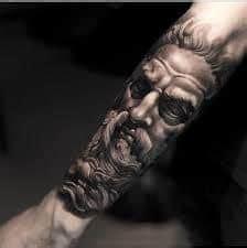 zeus tattoo meaning zeus lightning bolt tattoo www pixshark com images