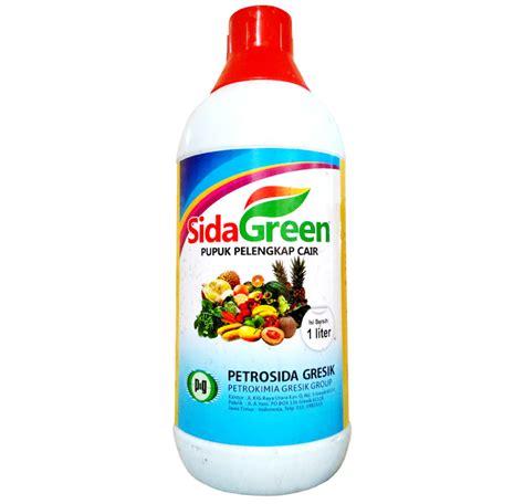 Plastik Kemasan Pupuk pupuk cair tanaman pertanian sidagreen 1 liter sumber