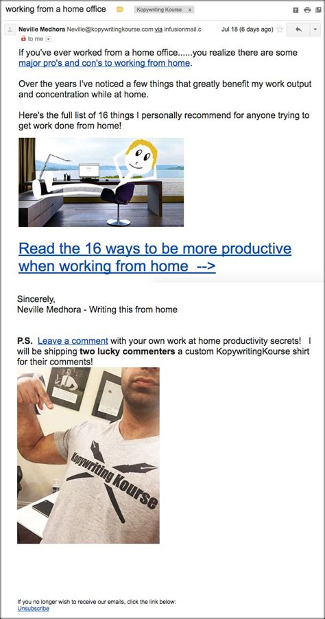 email layout explained how to write a newsletter for email