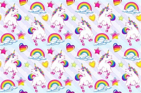 unicorn pattern background patternvomit seamless lisa frank background made by me