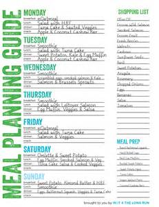Whole30 Meal Planning Template by Whole30 Meal Plan Template Wordscrawl