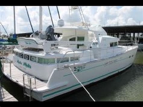 catamarans for sale kemah tx sold lagoon 43 power cat for sale sea lake yachts