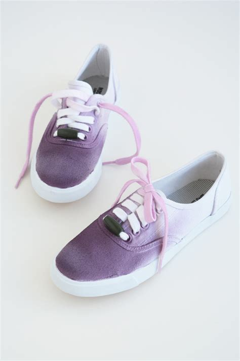 ombre shoes diy oleander and palm diy ombre shoes and laces