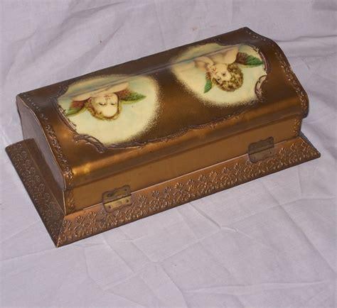 Dresser Box by Bargain S Antiques 187 Archive Antique Celluloid Dresser Box With Cupids