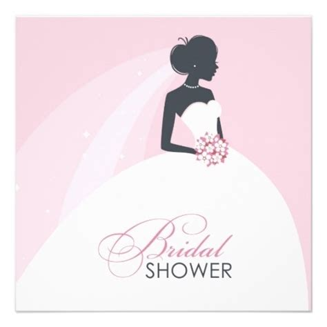bridal shower invitation cards templates zazzle bridal shower invitations template resume builder
