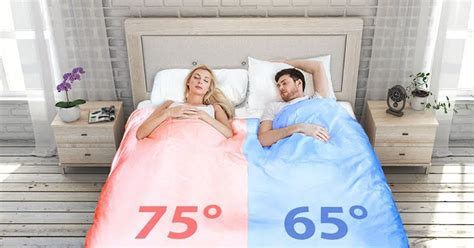 temperature controlled bed this smart duvet might just save your relationship and