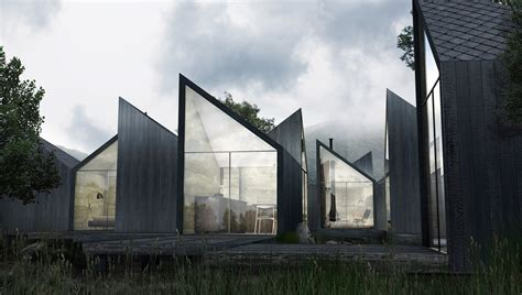house by design this charred wood cabin can be rearranged in an infinite number of ways moduu house by