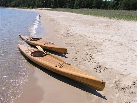 Handmade Kayak - handmade the thunder bay cedar kayak by mackinaw