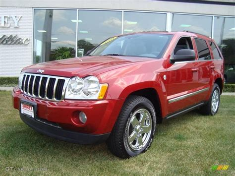 red jeep cherokee 2006 jeep grand cherokee red 200 interior and exterior