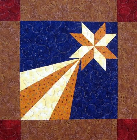 Quilting Block by Starwood Quilter Shooting Quilt Block