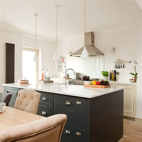 modern grey painted kitchen makeover housetohome co uk