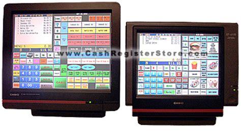 Mesin Kasir Electronic Register Casio Qt 6100 register store casio touch screen electronic registers