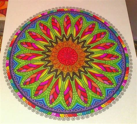 mandala coloring book markers the world s catalog of ideas