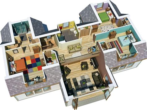 3d house layout design software home architecture auskerry large house 3d 3d home design
