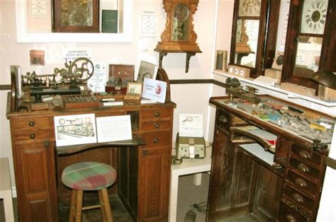 galleries watchmakers  work benches