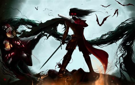 imagenes wallpaper de anime fondo pantalla anime hellsing