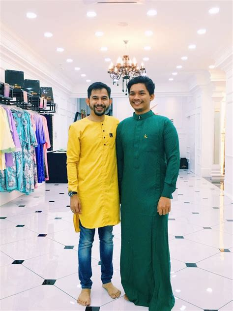Baju Raya Coklat Cair baju raya lelaki 2016 yang cantik dunia farisya