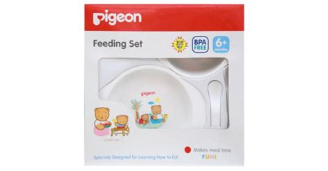 Sassy On The Go Feeding Set Kotak Makan Bekal Anak Sekolah jual murah pigeon bpa free feeding set mini 6m feeding