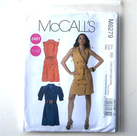 misses womens dresses belt plus size 18w 24w mccalls