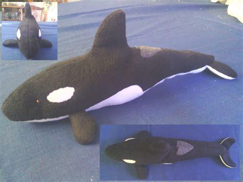 killer whale plush orca plush by blutaiger on deviantart