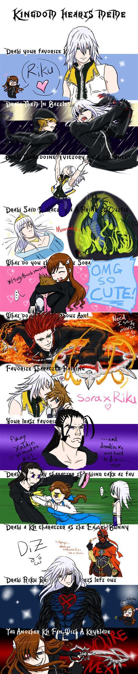 Kingdom Hearts Memes - kingdom hearts meme by tehp wingavenger on deviantart