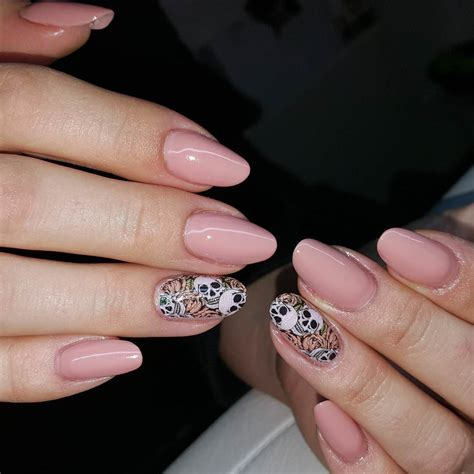 Looking For Nail Designs by 25 Skull Nail Designs Ideas Design Trends