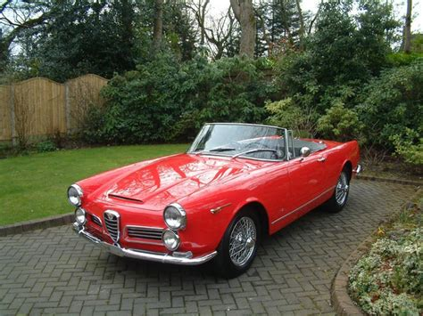 Alfa Romeo 2600 Spider by 1964 Alfa Romeo 2600 Spider For Sale Classic Cars For