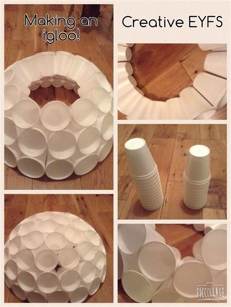 How To Make Igloo With Paper - 25 unique igloo craft ideas on letter i