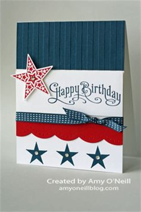 Handmade Independence Day Cards - handmade birthday cards on masculine cards
