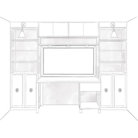 Diy Built In Desk Plans Plans Built Ins Plans Diy Free Garage Organizer Plans Free Home Furniture Plans