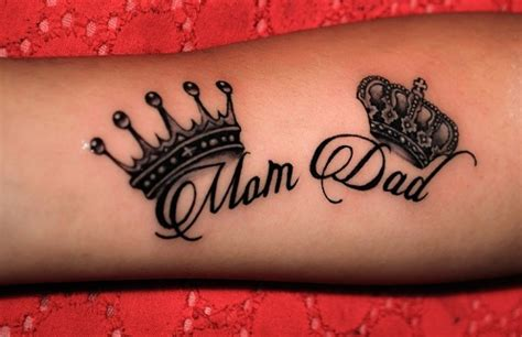 tattoo designs dedicated to parents 15 cool designs for and
