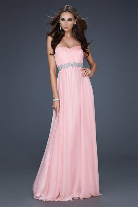 cheap pink prom dresses iris gown