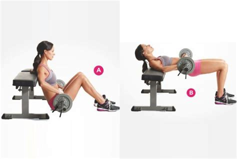hip thrust bench hip thrust bench 5 effective hip thrust exercises and