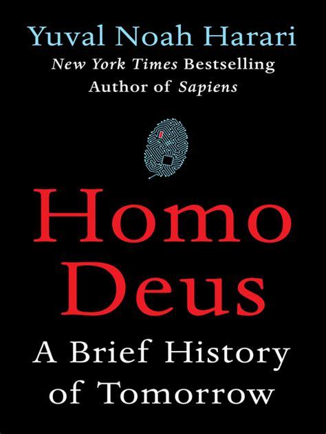 homo deus a brief 1784703931 homo deus vienna public library overdrive