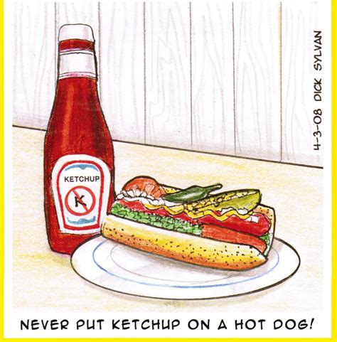 ketchup on it s the in chicago the culinary cellar