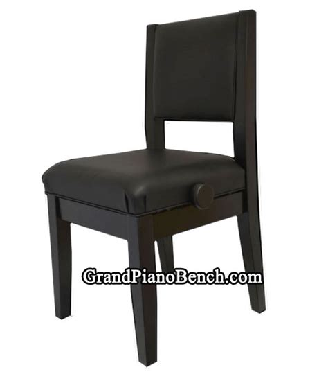 piano bench with back support padded piano chair that adjusts