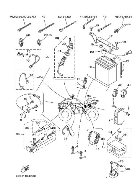 wiring diagram for yamaha wolverine wiring diagram with
