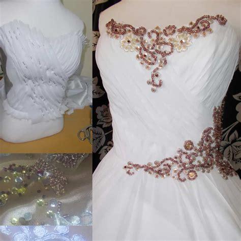 beaded chagne dress rosegold beaded wedding dress change lab