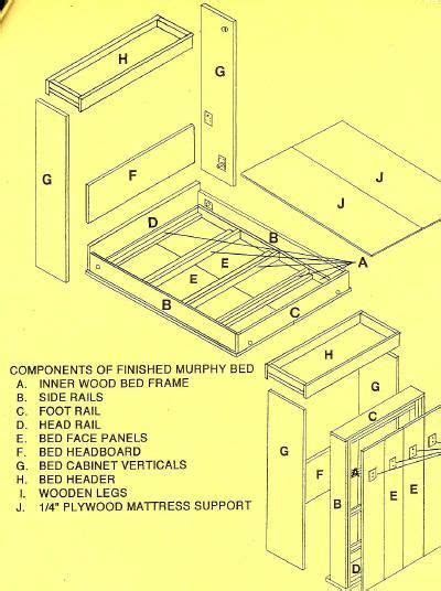 murphy bed parts 25 best ideas about murphy bed plans on pinterest diy