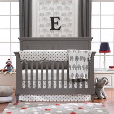 elephant baby bedding set elephant crib bedding from buy buy baby
