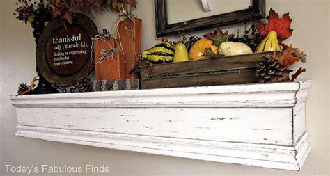 wood mantel shelf diy