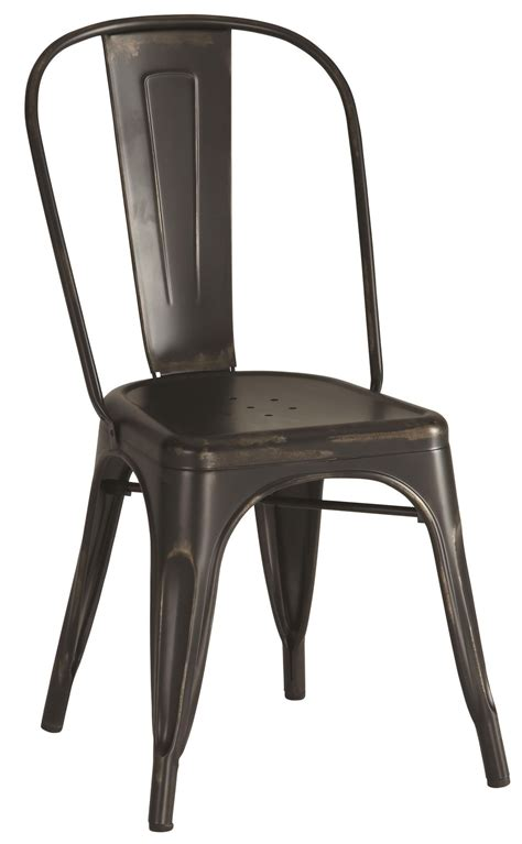 black metal dining room chairs bellevue black metal dining chair set of 4 from coaster