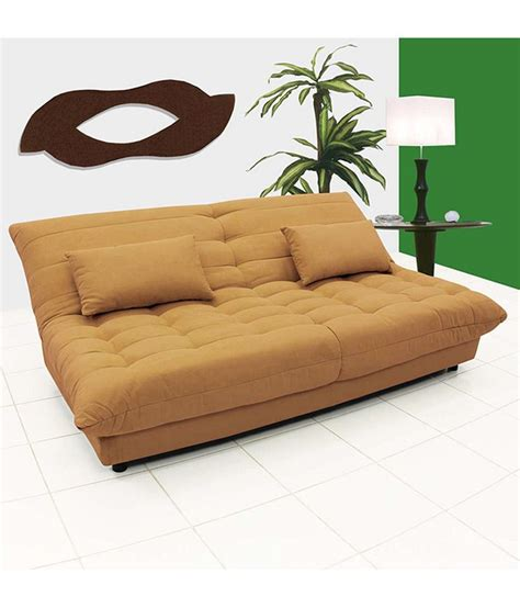 sofa cum bed price in chennai fabhomedecor gaiety sofa bed camel best price in india on