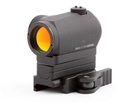 Micro Aimpoint T1 Low Black american defense mfg llc aimpoint t1 micro mount