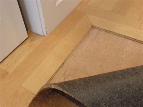 Look! Inlaid Right into the Floor Doormat   Floors
