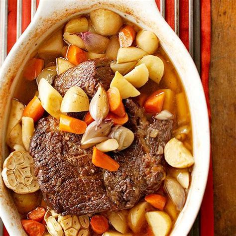 sunday oven pot roast recipe